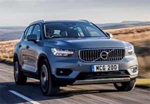 Volvo has become the first car manufacturer to offer plug-in hybrid versions of its entire model range with the lunch of the XC40 T5 Twin Engine Plug-in Hybrid with 28-mile claimed electric range.