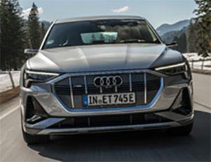 The Audi e-tron Sportback
